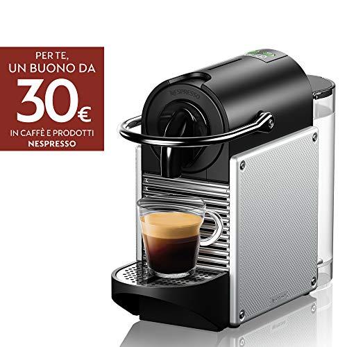 De'Longhi EN 124.S Nespresso Pixie EN124.S Macchina per caffè...