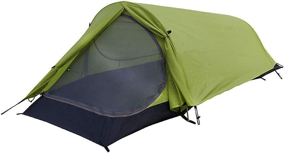 MDZH Tente Tente Barraca 1 Pessoa Carpas De Camping Tunnel Tente Barraca De Acampamento