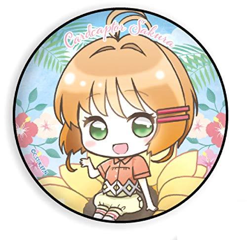 【木之本桜】 缶バッジ カードキャプターさくら クリアカード編 05 夏Ver.(ミニキャラ)
