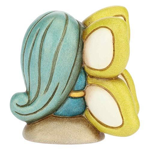 THUN - Morgana, Fata Veggente - Soprammobile Fatina - Accessori per la Casa - Formato Piccolo - Ceramica - 6,17 x 4,46 x 6,12 h cm