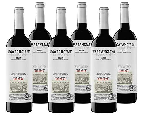 Vino Tinto Lan Viña Lanciano Reserva Especial (D.O.Ca.Rioja) - 6 botellas de 750 ml - Total: 4500 ml