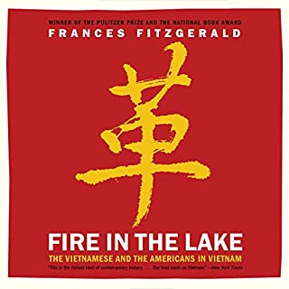 Fire in the Lake audiobook cover art