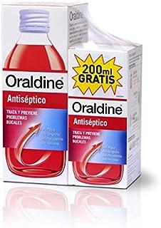 Oraldine 1717146 Colutorio Antiséptico, 400 Mililitros + 200 MIlilitros