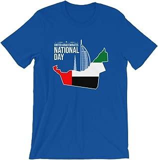 Pleasant Appreciative UAE National day Lovable Vibes Unisex Premium T-Shirt