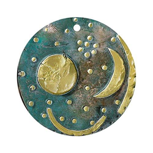CafePress Weihnachtsdekoration, Motiv: Himmelsscheibe von Nebra, Bronzezeit
