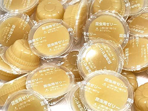 昆虫ゼリー元気無双プロテインバナナワイドカップ17g×100個(50個入り×2袋)