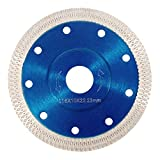Welcomefee 115mm 4.5' Super Thin Diamond Saw Blade Dry/Wet Angle Grinder Wheel Disc for Cutting Porcelain Tiles,Granite Marble Ceramics
