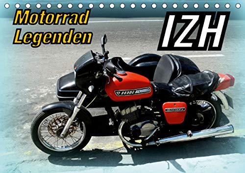 Motorrad-Legenden: IZH (Tischkalender 2021 DIN A5 quer)