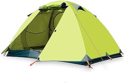 YTBLF Tente d'ombrage Double Plage, Tente de Camping Sauvage, Tente de Camping Sauvage, Tente Anti-tempête, Vert Clair (210x140x110cm)