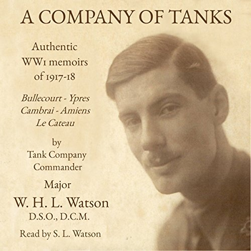 A Company of Tanks audiobook cover art