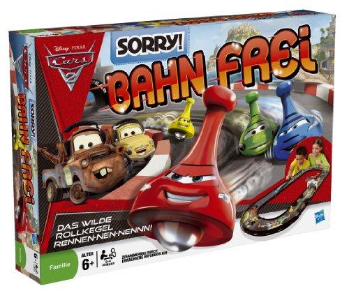 Hasbro MB Spiele 30649100 Sorry! Bahn frei Cars 2