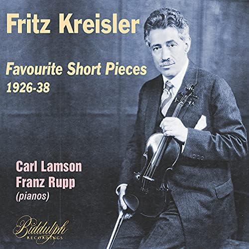 Fritz Kreisler, Carl Lamson & Franz Rupp