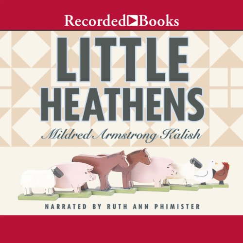 Little Heathens audiobook cover art