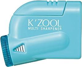 Kutsuwa STAD K'ZOOL Sharpness Adjustable Pencil Sharpener, Light Blue (RS018LB)