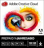 Adobe Creative Cloud (MAC/WIN) Gesamt-Paket als Prepaid