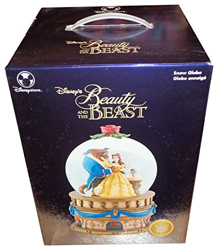 Beauty and the Beast Snow Globe Rose