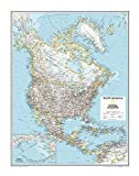 National Geographic: North America Political...
