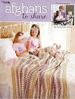 Afghans to Share (Leisure Arts # 3492 crochet patterns)