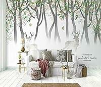 YCRY-壁紙3Dフルーツフォレスト -壁の装飾-ポスター画像写真-HD印刷-現代の装飾-壁画-400x280cm