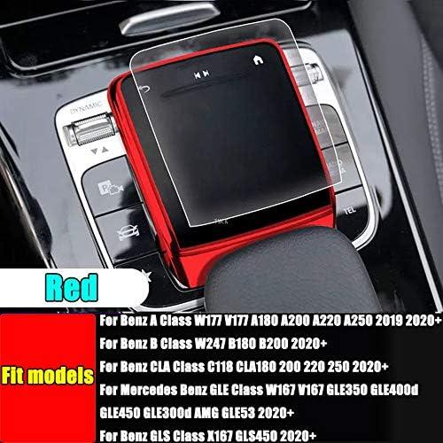 Luvcarpb Car Accessories Center Control Mouse Screen Protector For Mercedes Benz Ab Cla Gle Gls Glb Class W177 W247 C118 W167 Black Sport Freizeit