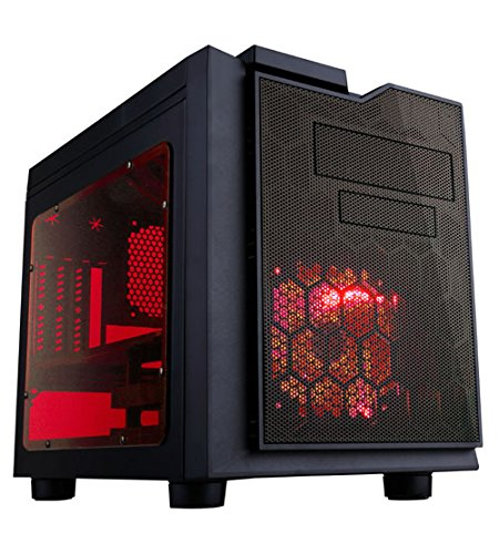 APEVIA X-QPACK3-RD Micro ATX Cube Shape Case