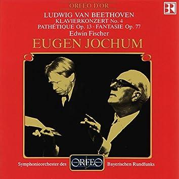 Beethoven: Piano Concerto No. 4, Piano Sonata No. 8 & Fantasia for Piano in G Minor (Live)