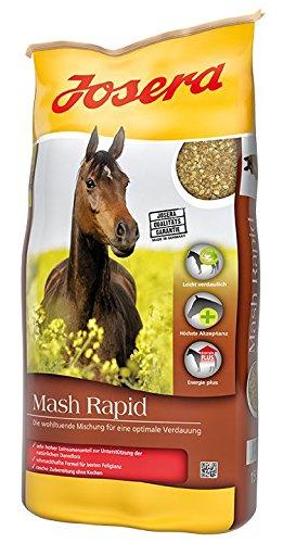 JOSERA Mash Rapid, Premium Pferdefutter für eine optimale Verdauung, sehr hoher Leinsamenanteil, Mash für Pferde, 1er Pack (1 x 15 kg)