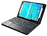 MQ pour Galaxy Tab S2 9.7 - Etui avec clavier français AZERTY pour Samsung Galaxy Tab S2 9.7 LTE SM-T815, SM-T819, Tab S2 9.7...