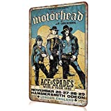 HONGXIN Motorhead Schild Vintage Metall Poster Blechschild