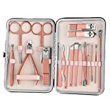 Professional Manicure Set, Nail Clippers 1 Set 18 PCS Grooming...