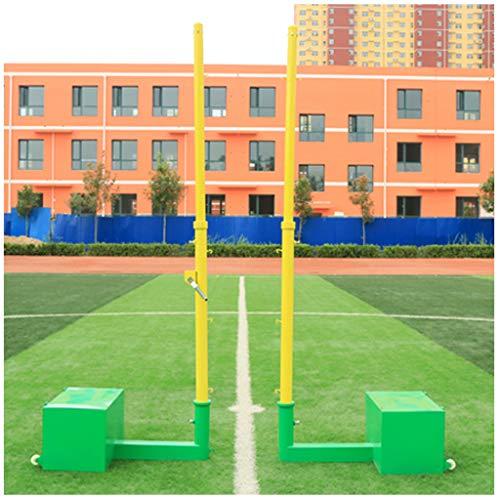 YILANJUN Badmintonnetz - Outdoor Multifunktionsnetz - Badmintonsäule - Volleyballpfosten - Badmintonpfosten
