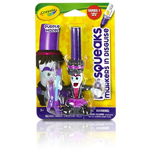 Crayola Pip-squeaks Purple Hazel in Disguise Marker
