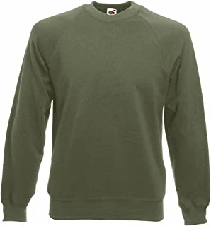 Fruit of the Loom Raglan Sweatshirt Mens