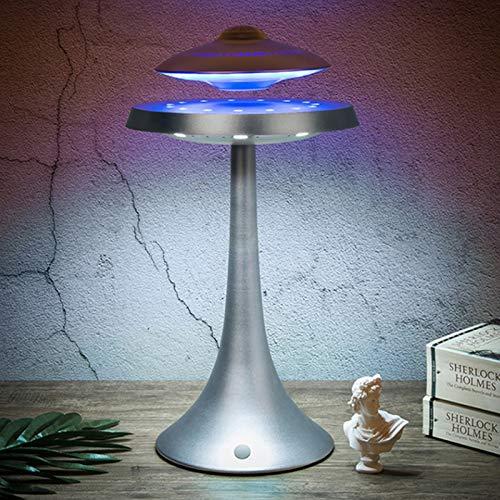 SGSG Altavoz Bluetooth/Levitación magnética Altavoz/UFO Luz de Noche Flotante inalámbrica/LED LED Rotación de 360 Grados