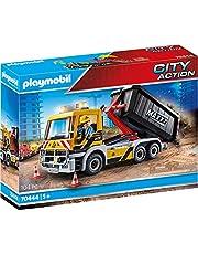 PLAYMOBIL City Action 70444 Samochód ciężarowy z wymiennym nadwoziem, od 5 lat