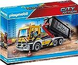 playmobil obras camion grua