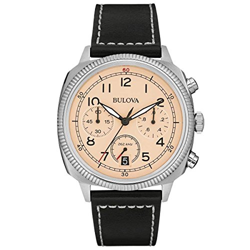 Bulova Men's 96B231 Analog Display Quartz Black Watch