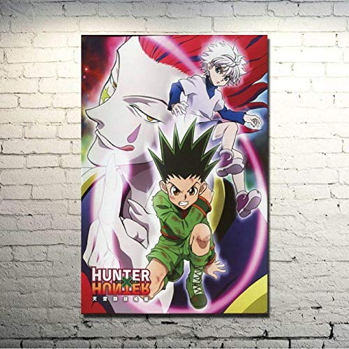 LOIUYT, decoración del hogar, arte de pared, Academia de héroes, 1 panel, pintura de personajes de dibujos animados, lienzo impreso, póster de personajes modulares, dormitorio 40x55cm
