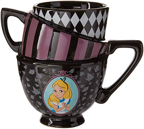 Disney Alicia en el país de las maravillas – Taza de cerámica con diseño de gato Cheshire 3D, Tazas de…