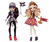 Ever After High School Spirit Apple White and Raven Queen Doll (2-Pack) by
