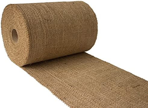 Burlapper 8 x 10 Yards 10 oz Jute Burlap Ribbon Roll product image