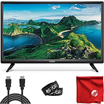 VIZIO D-Series 24-Inch Class 720p HD LED Smart TV  D24H-G9  with Built-in HDMI USB SmartCast Voice Control Bundle with Circuit City 6-Feet High Definition HDMI Cable and Accessories