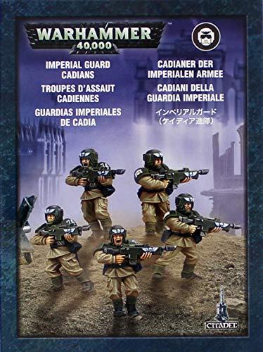 Games Workshop Imperial Guard Cadians Mini-Box