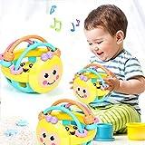 jieGREAT🎄 Kinder Lernspielzeug 🎄 Weiche Babyspielzeug Glocke Rasseln Ballspielzeug Kleinkindspielzeug Kunststoff Handglocke,Baby Spielzeug ab 6 Monaten