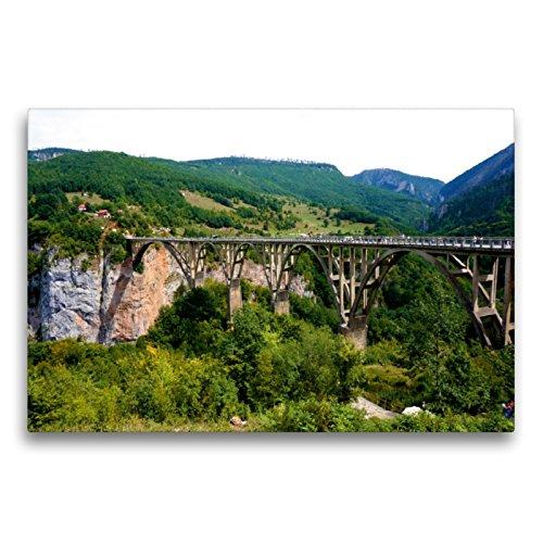Calvendo Un Puente de Arco sobrepasa la Trampa de la Tara, 75x50 cm