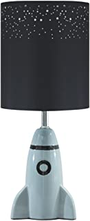 Ashley Furniture Signature Design - Cale Table Lamp - Children's Lamp - Rocket Base - Gray
