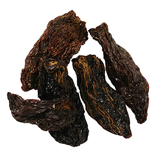 Frontier Co-op Chili Peppers Whole, Chipotle (Smoked Jalapenos) Chilies, Kosher | 1 lb. Bulk Bag | Capsicum annuum L.