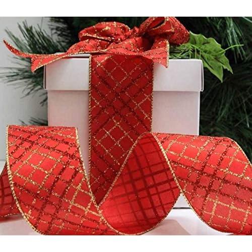 Gift Wrap Personalised Printed Ribbon Scarlet Red 15mm Ribbon