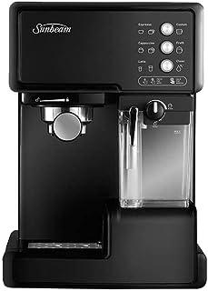 Sunbeam EM5000K Café Barista Coffee Machine   One-Touch Espresso, Latte & Cappuccino Coffee Maker   2L Water Tank   Automa...