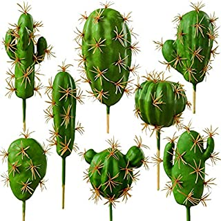 2 stücke Künstliche Sukkulente Kaktus Hausgarten Blumendekor Ornamente